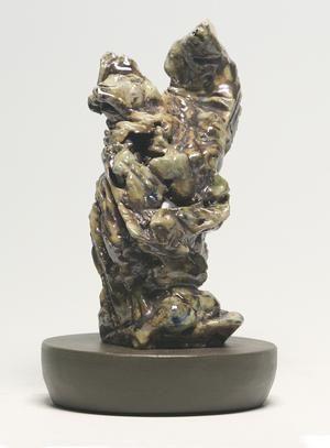Pieta by Regis Brodie. Salt Fired Stoneware. #Stoneware #Ceramics #Sculpture