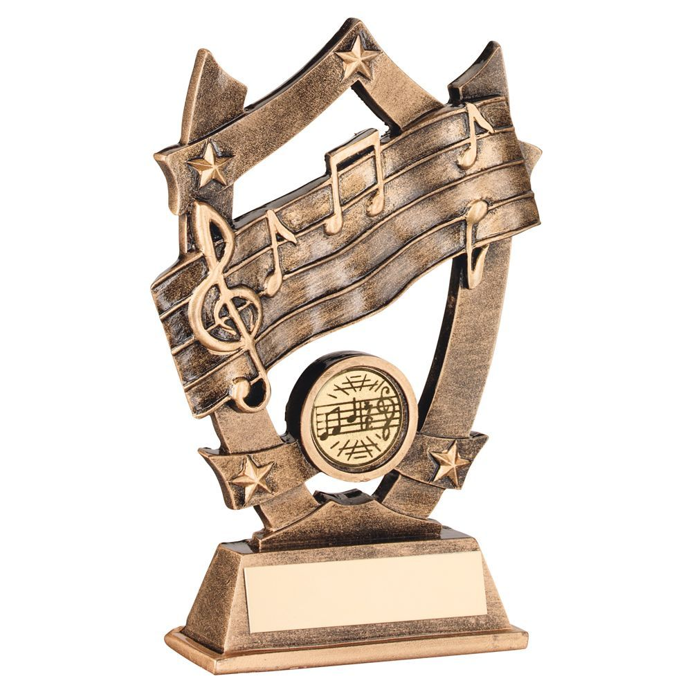 First For Trophies | Music Resin Award, Music