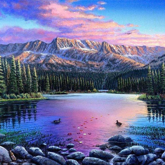 Oil paintings: unbelievable but shockingly true by Wes Van Dyke. |funpalstudio| art artist artwork beautiful creativity illustration entertainment painting watercolor