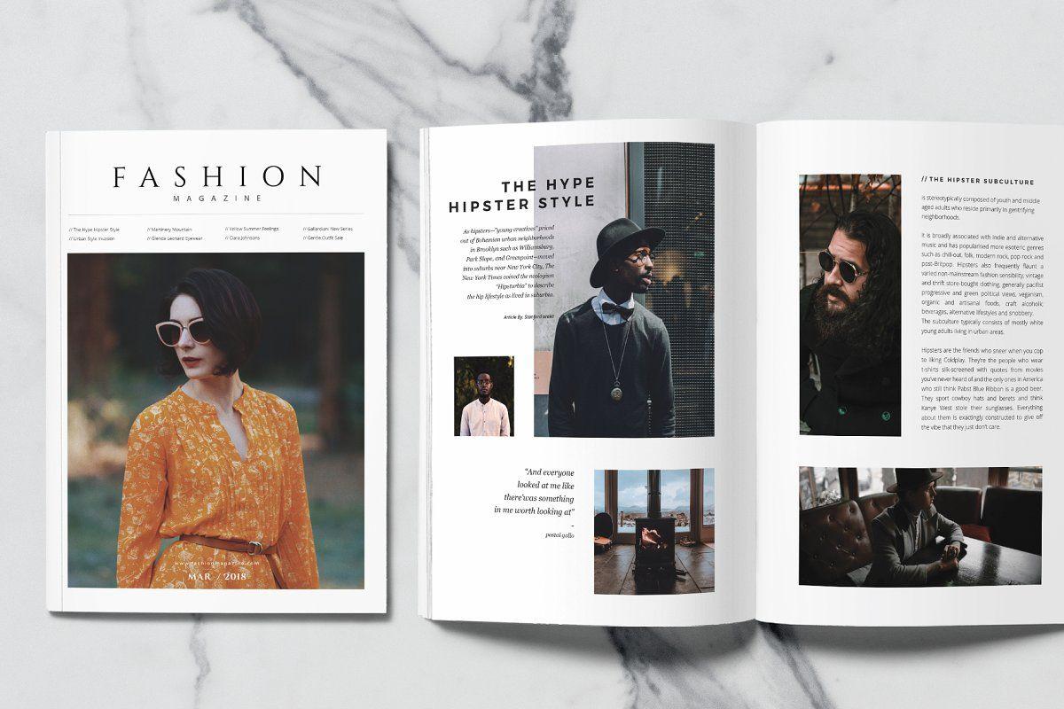 Fashion Magazine by rubirubiko on creativemarket