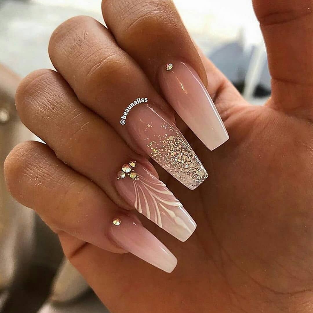 "Instanailfeed en Instagram: ""nailsvibez Pretty Nails 💅 cuál? 1-5? Siga @instanailfeed por @_nailzval_. . . #unas # uñas #nail # uñas # uñasacrilicas … """