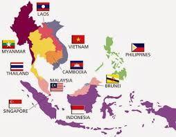 Hasil Gambar Untuk Gambar Peta Asean Peta Peta Dunia Gambar