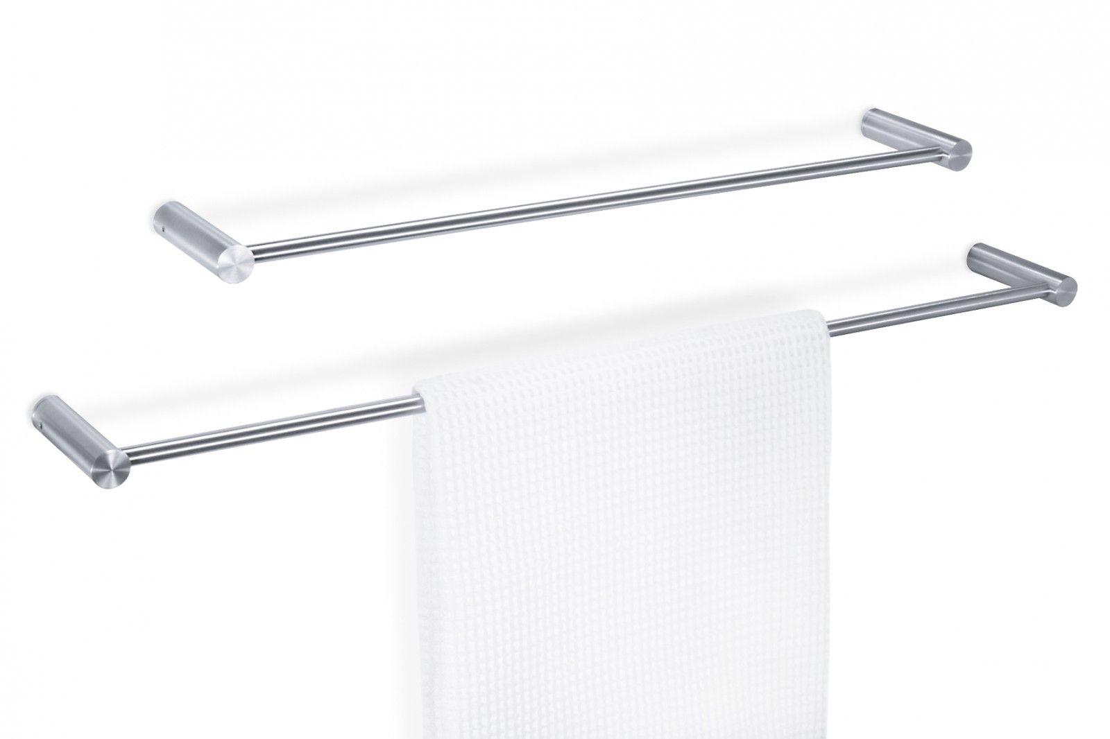 ZACK Edelstahl Handtuchhalter CIVIO Handtuchstange 60 cm