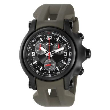 Oakley Men s 10-281 Holeshot 10th Mountain Division Unobtainium Limited  Edition Chronograph Watch 3.8 out 78e9f0ccb4