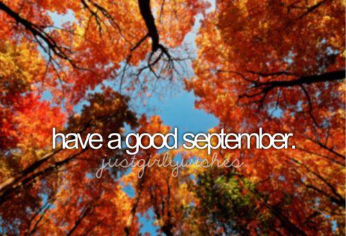 Have a good September  #fall #autumn #orange #romantic #leaves #sky