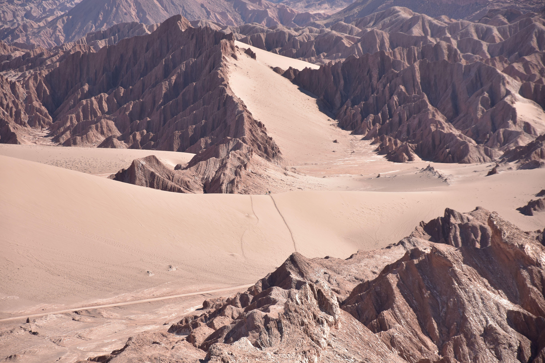 Valle de Marte o de la muerte, Chile