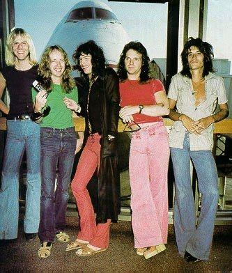 A very young Aerosmith! (1970)