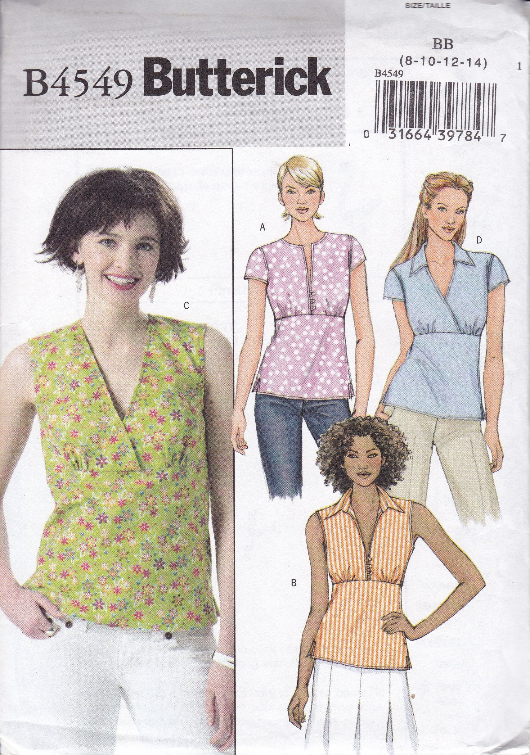 Dress and Leggings Top Simplicity Creative Patterns 1376 Misses and Plus Size Jacket 20W-28W BB