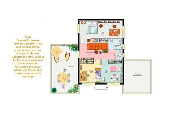 Modèle de maison Une maison de verre -  Retrouvez tous les types de - faire des plan de maison