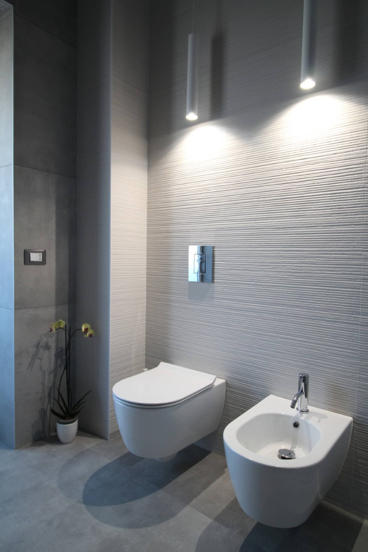 Rivestimenti in bagno grandi effetto 3d bagno moderno di