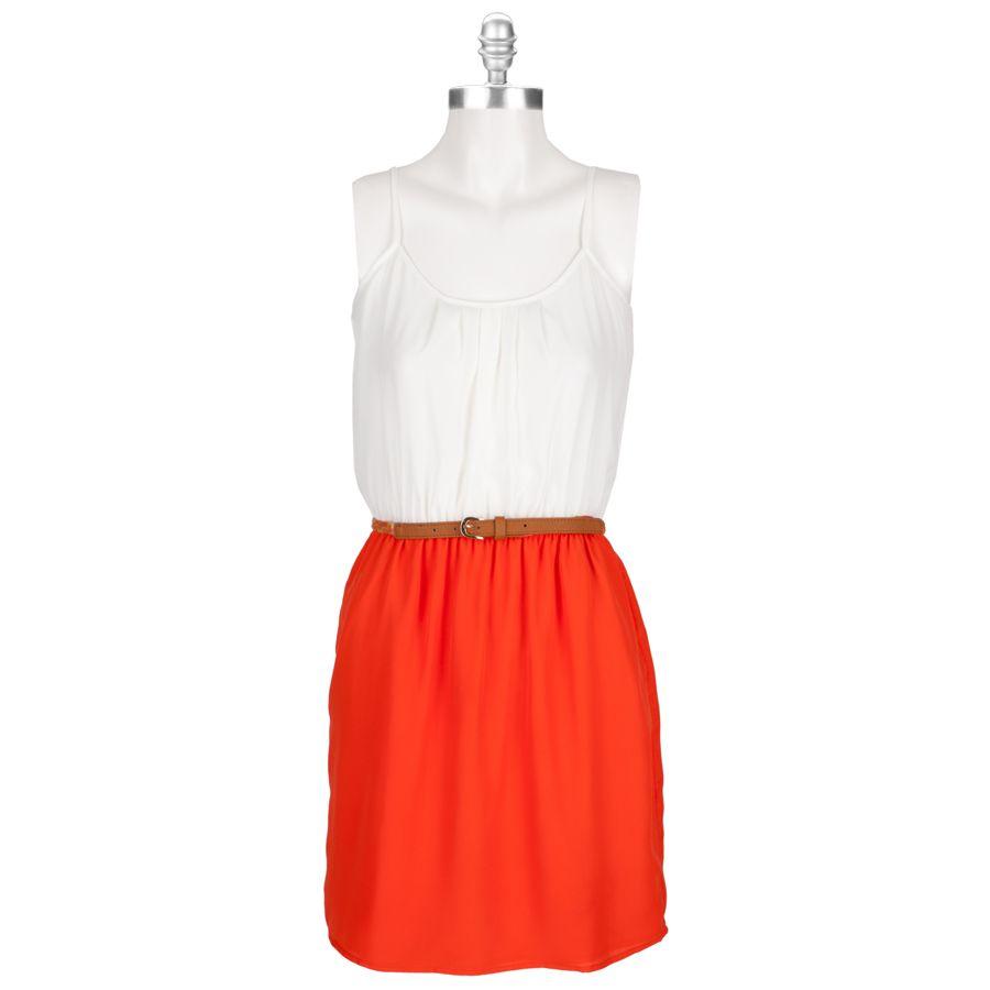 Collective Concepts Women's Contemporary Color Block Dress #VonMaur