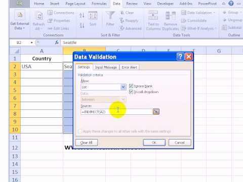 How To Limit Choices In Excel Drop Down List Based On Value In