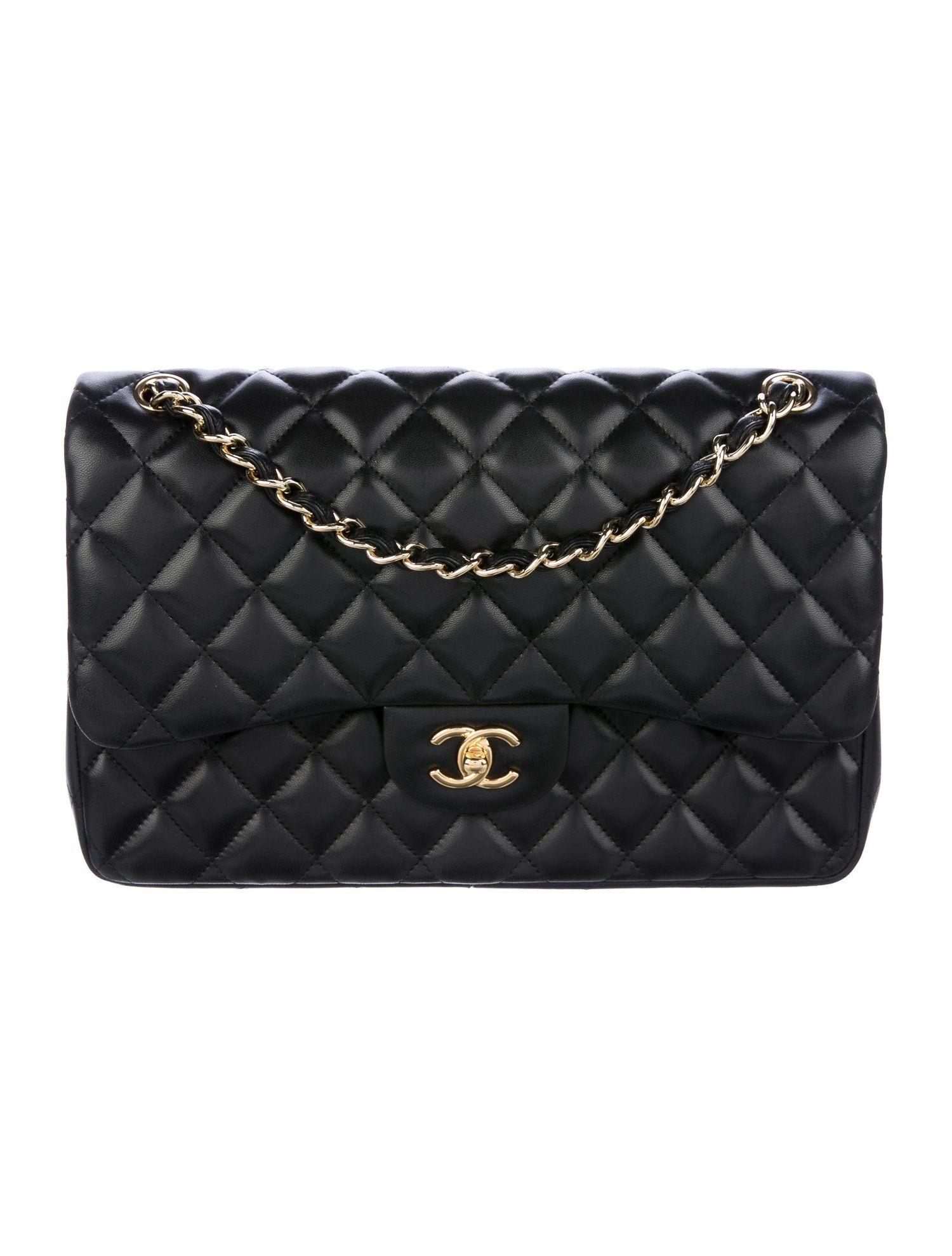 14bc32063ac9 Chanel Classic Jumbo Double Flap Bag - Handbags - CHA229554 | The RealReal