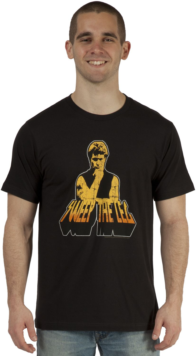 943127660 80stees.com Sweep The Leg Cobra Kai T-Shirt | Clothing and stuff ...