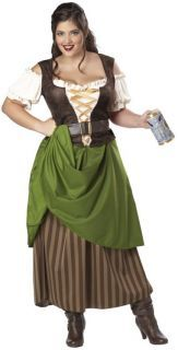 9e7422627f Sexy Womens Medieval Tavern Bar Wench Maid Costume