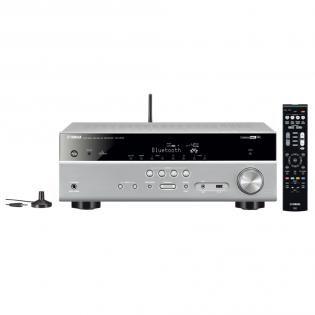 Yamaha RX-V 579  WX-030 - 7.2 AV-Receiver & Multiroom Speaker  72 AV receiver - Vermogen: 115 watt - Cinema DSP Dolby TrueHD - 6x HDMI Optisch USB Bluetooth  EUR 555.49  Meer informatie  http://bit.ly/29U5xFT