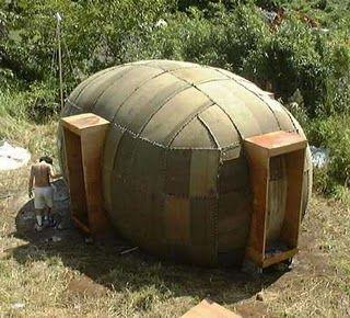 Inflatable Hemp House Architecture Low Tech Eco Buildings