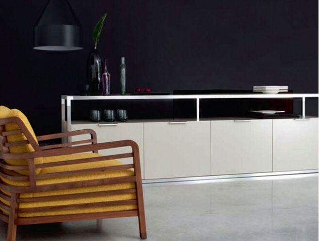 Sideboard Domo Design : Contours sideboard ligne roset domo domo