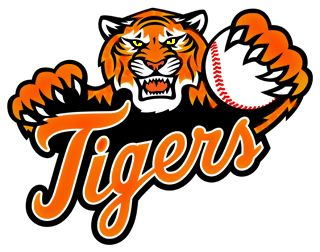 baseball logos clip art page 1 page 2 page 3 love the tigers rh pinterest com Angry Tigers Logos Auburn University Tiger Football Logo