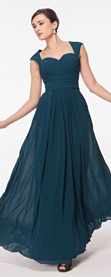 Sweetheart Backless Teal Bridesmaid Dresses Maid of Honor Dresses ...