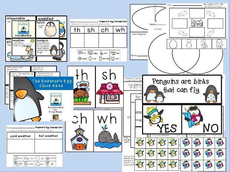 Penguins Fiction vs Nonfiction Book Study