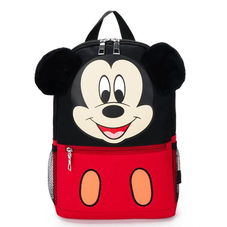 Mickey Minnie Mouse Disney cute Animals toys boys Back to School Bag kids gift