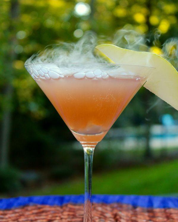 Sparkling Cranberry Pear Martini