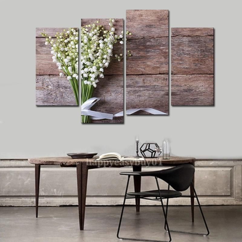 5pcs HD Modern Print Painting Wall Canvas Framed Art Mural Living - moderne wohnzimmerlampe