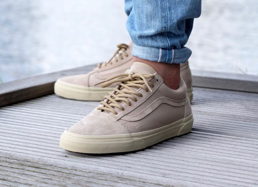 vans old skool mte beige