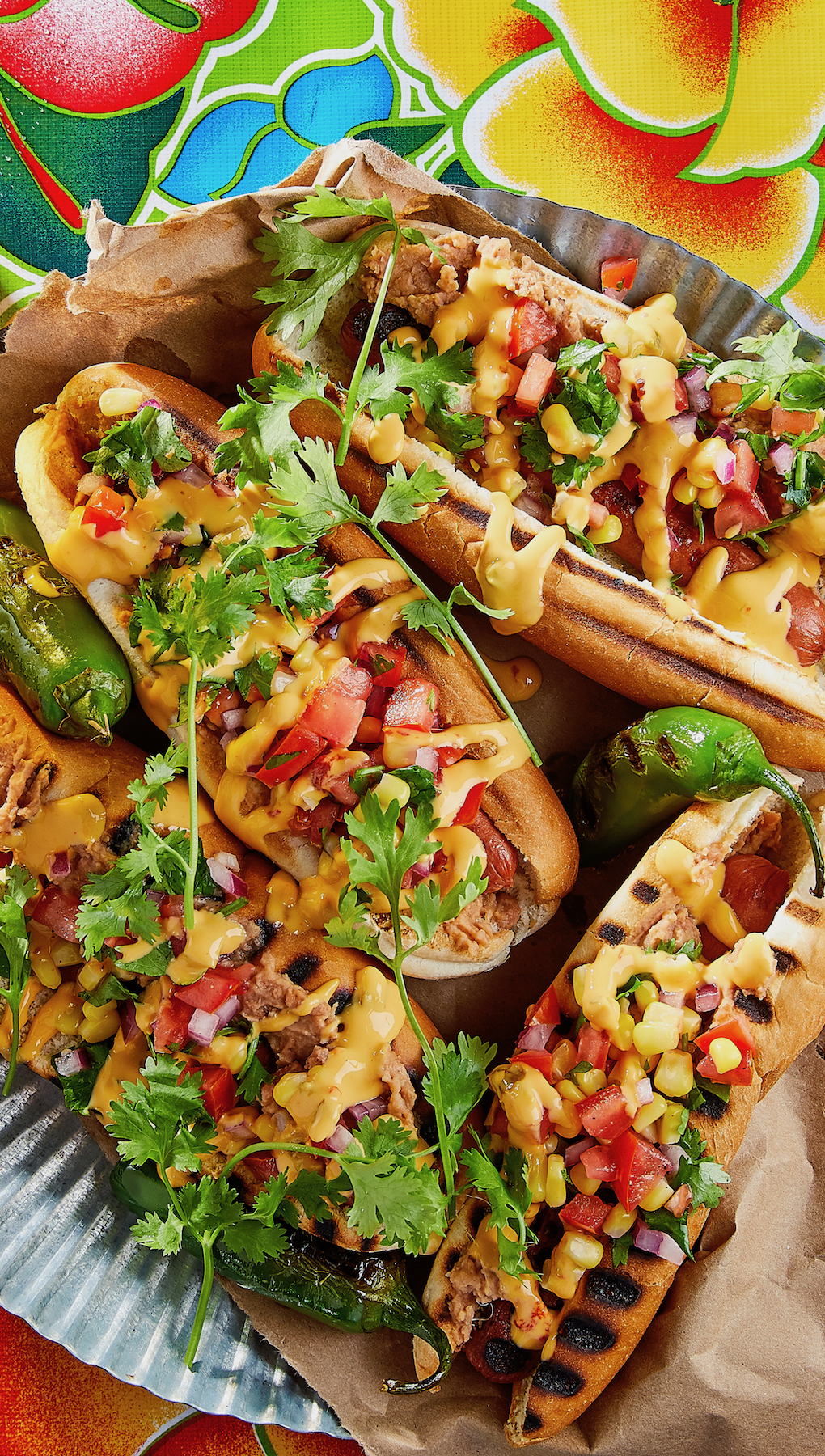 Mexican Style Hot Dogs Hot Dog Recipes Meals For The Week Week Meal Plan