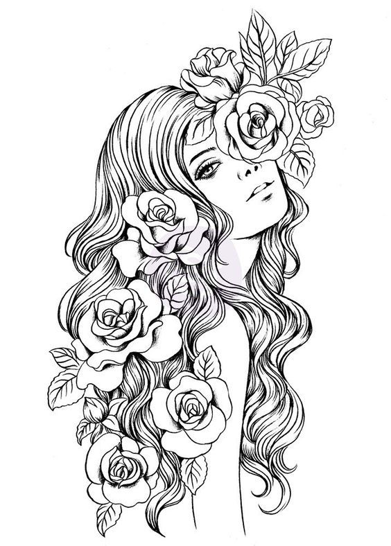 60 Desenhos para Adultos | Adult coloring, Coloring books and Tattoo