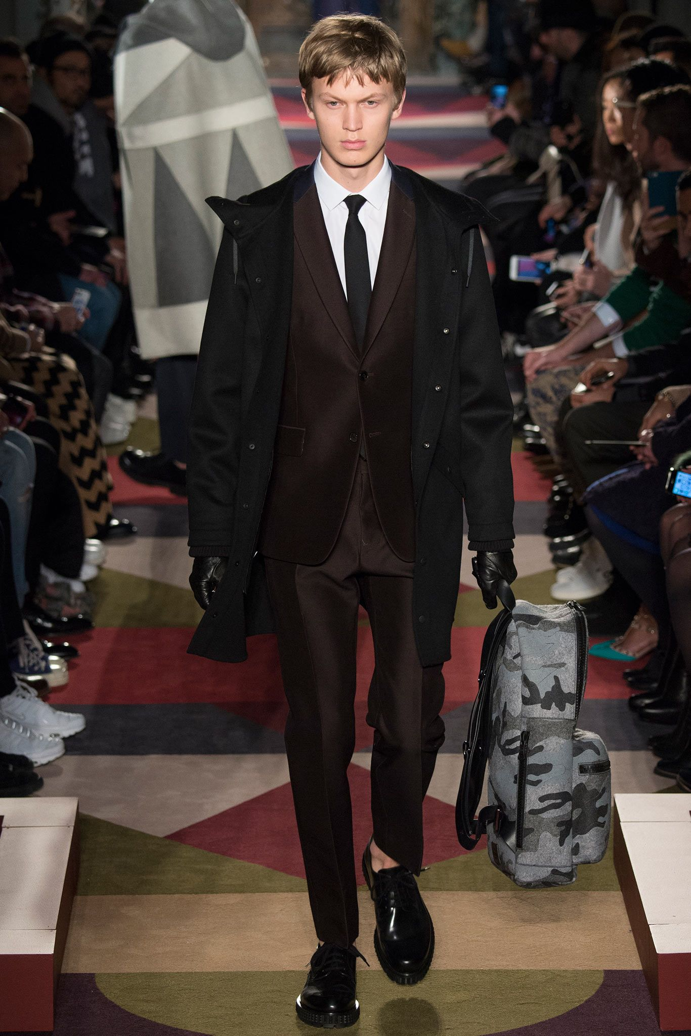 Valentino fall menswear collection gallery style