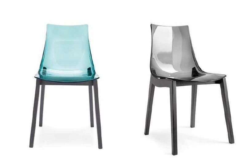 Molinari Sedie ~ Sedia in legno con fondino in polimero san vari colori sedie