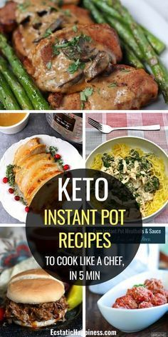 Instant Pot Recipes: The 7 Best Keto Recipes for Weight Loss