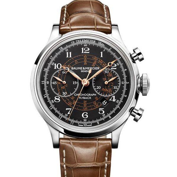 La Cote des Montres : Prix du neuf et tarif de la montre Baume & Mercier - Capeland - Capeland chrono flyback - M0A10068