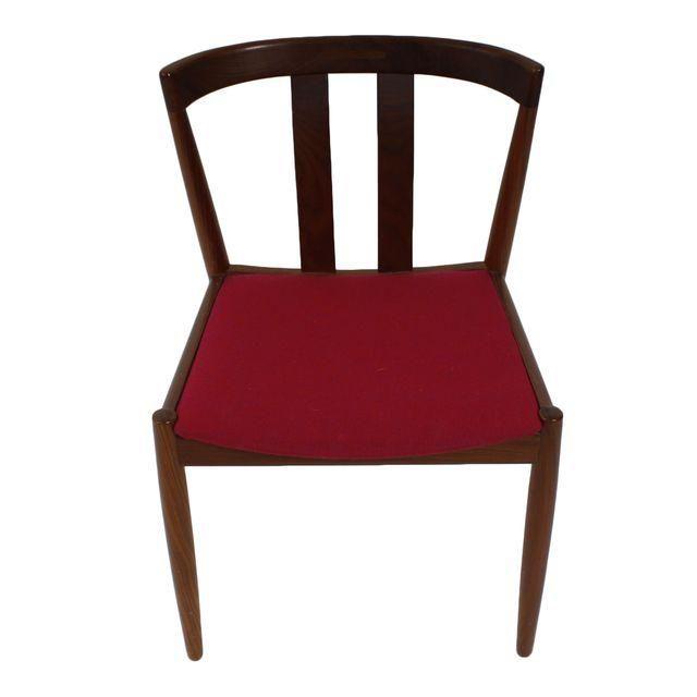 Danish Modern Walnut Dining Chairs Set Of 4 Walnut Dining