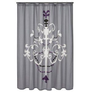 Dwellstudio For Target Chandelier Shower Curtain Purple I Want