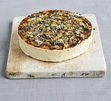 Blue cheese bacon tart recipe recipes bbc good food bbc blue cheese bacon tart recipe recipes bbc good food forumfinder Gallery