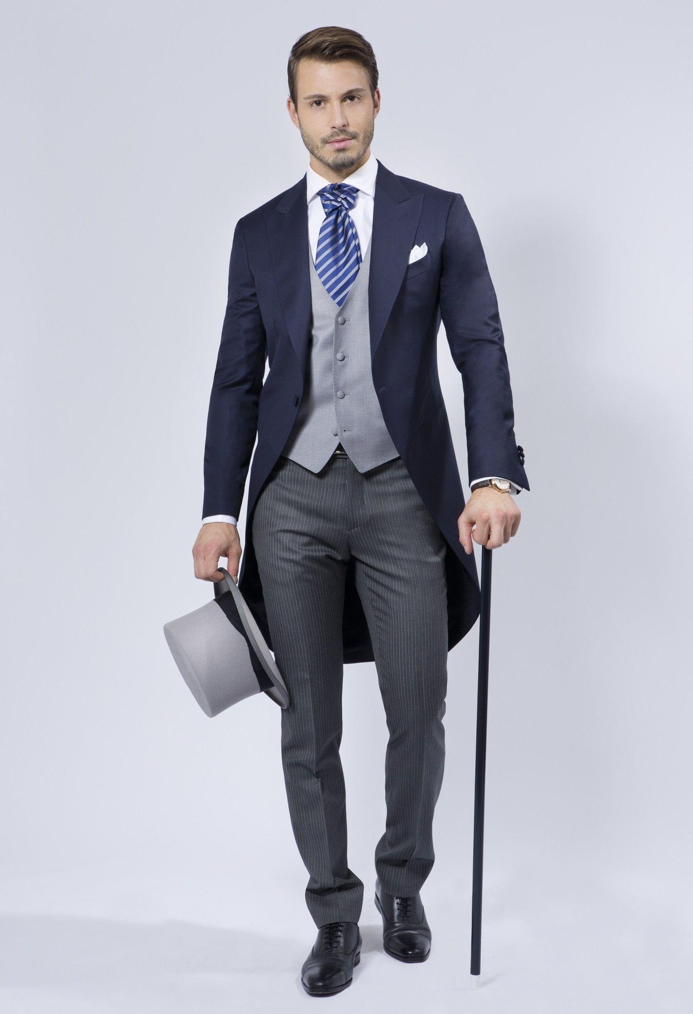 Novio Azul Marino · Clásico y elegante... Ropa Para Boda Hombre 9b72e36b868