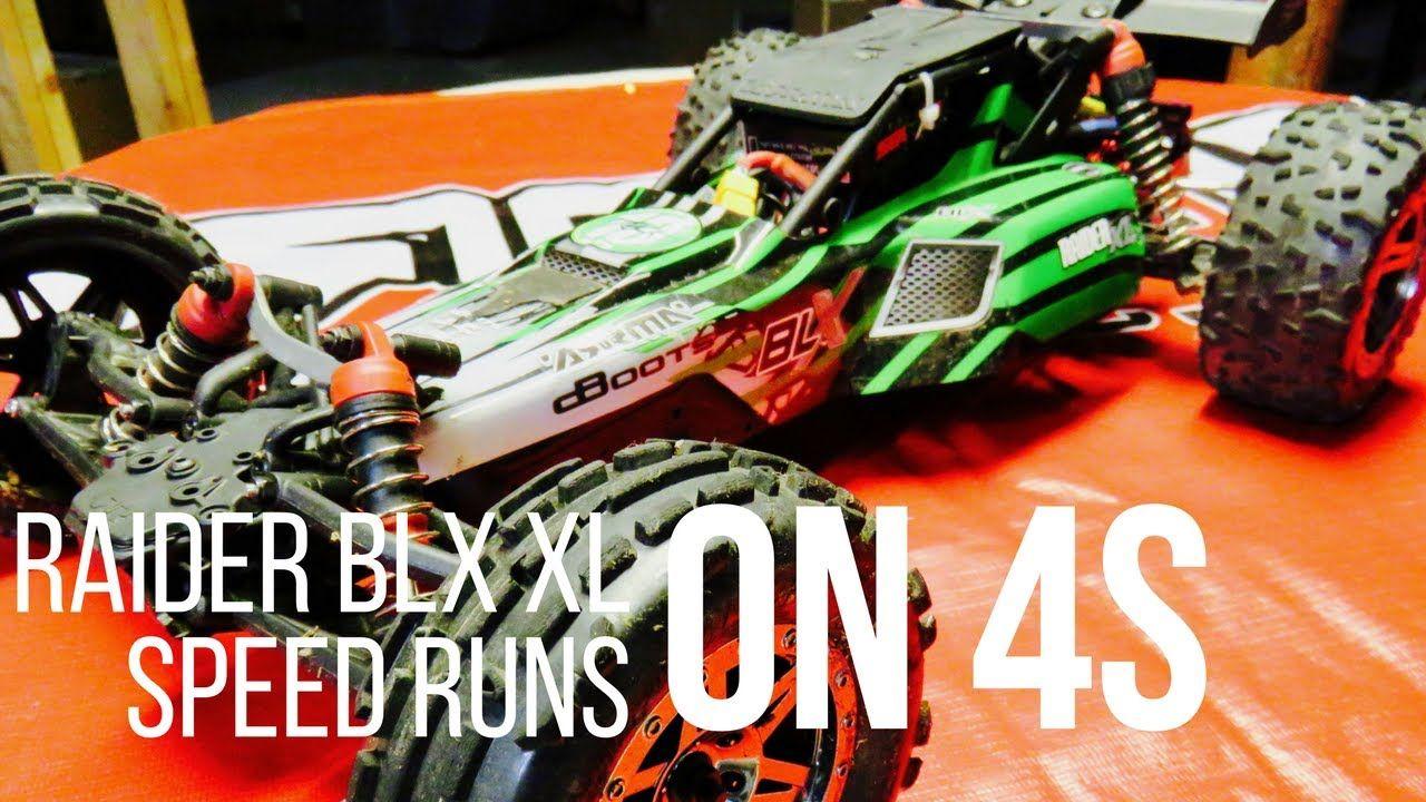 Arrma Raider Xl Speed Run On 4s Radio Controlled Cars Monster Trucks Love Radio