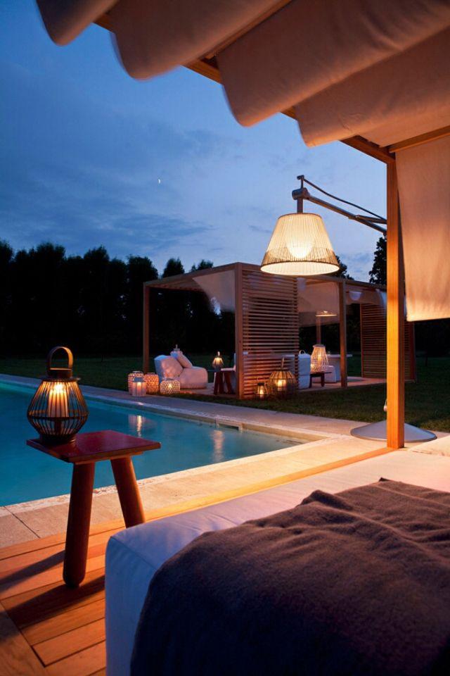 Pool side cabana