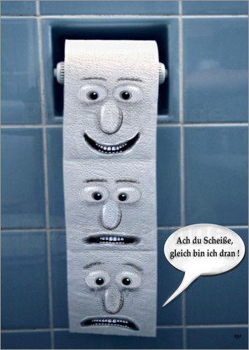 poster auf der toilette witzig toiletten lustiges und. Black Bedroom Furniture Sets. Home Design Ideas