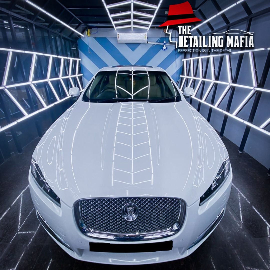 Jaguar Xf Was Treated And Protected With Sam The Best Ceramic Coating From Labocosmetica In 2020 Jaguar Xf Car Wash Company Ceramic Coating