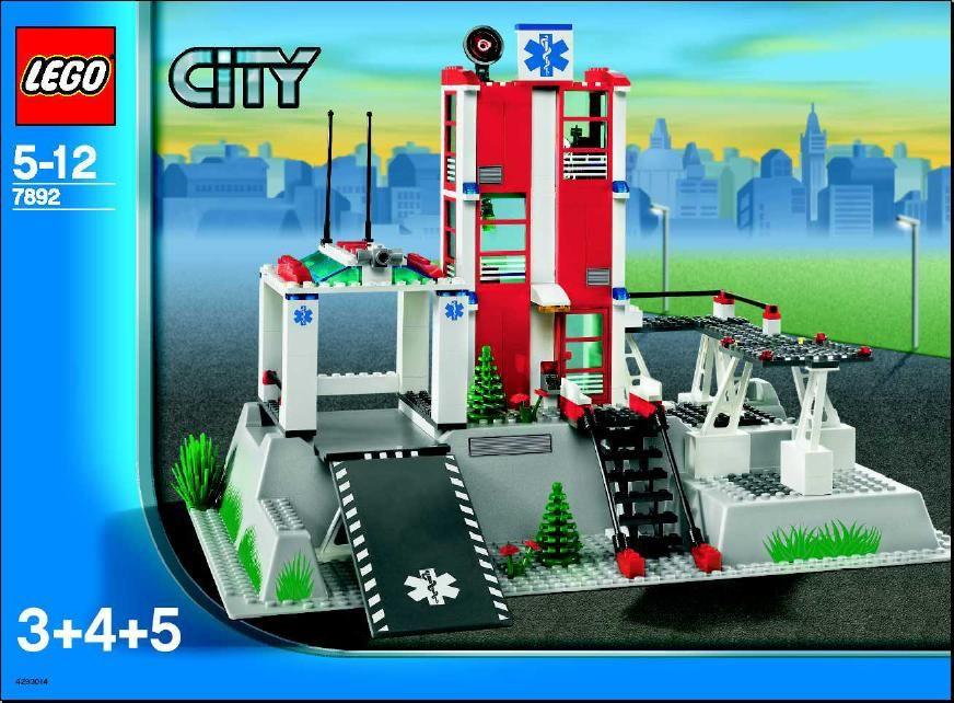 City Hospital Lego 7892 Wilson Pinterest City Hospital