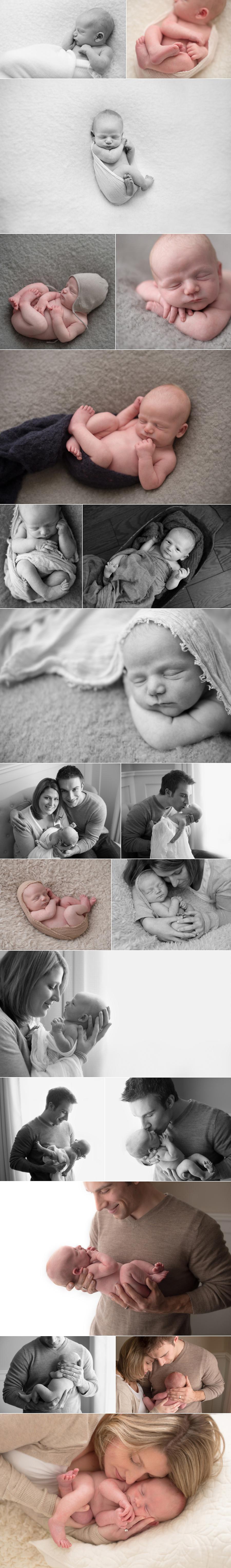 kerianne brown mom/dad newborn