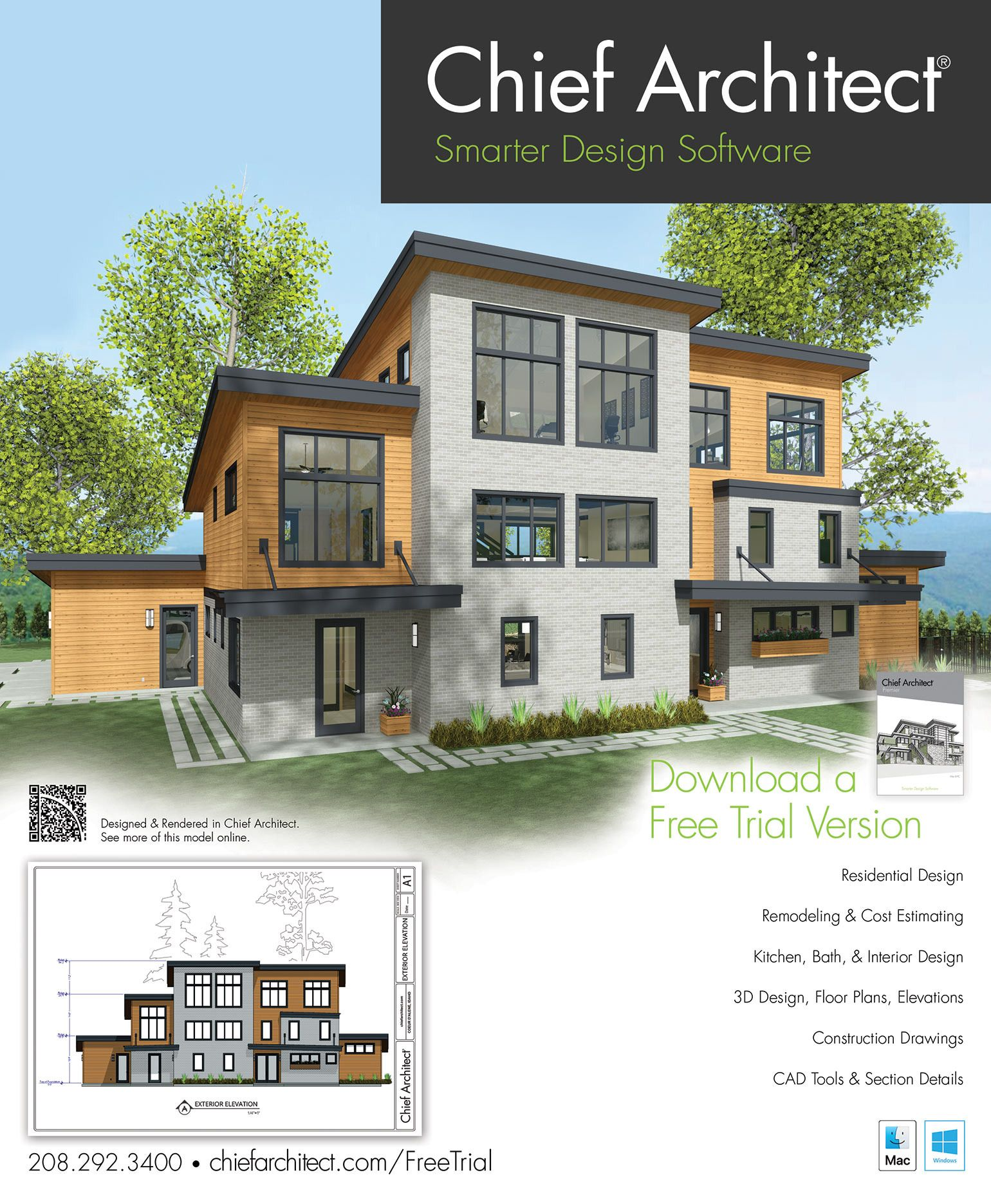 Architectural House Plans Software Free Download 2021 3d Home Design Software Architectural House Plans Chief Architect
