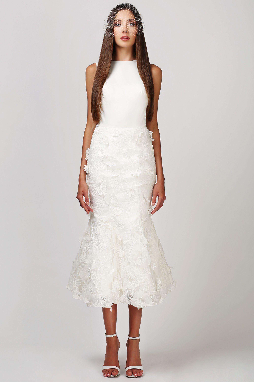 Edit description babushka ballerina short wedding dress by love