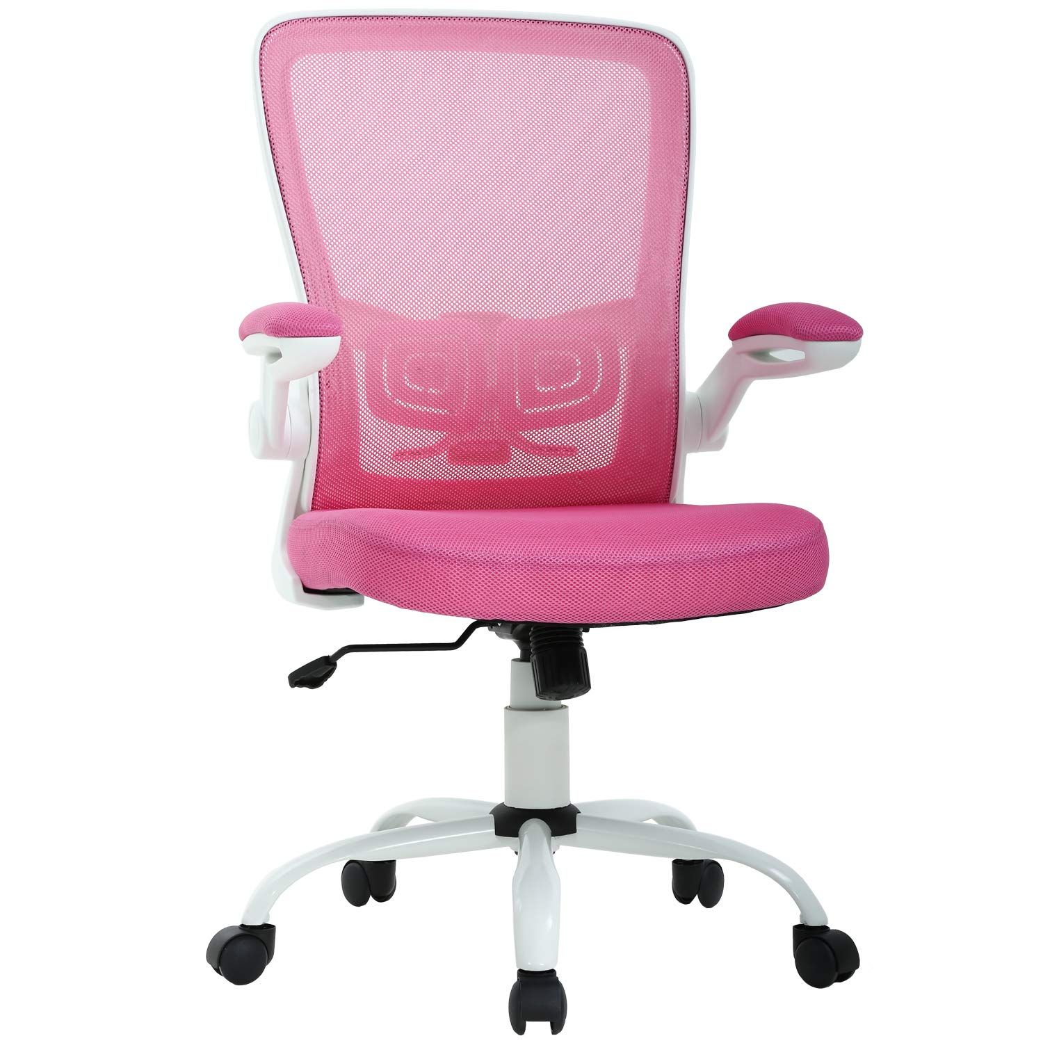Office Chair Desk Chair Computer Chair Back Support Modern Executive Mesh Chair With Adjustable Armrest Rolling Swivel Cha Pink Desk Chair Chair Computer Chair