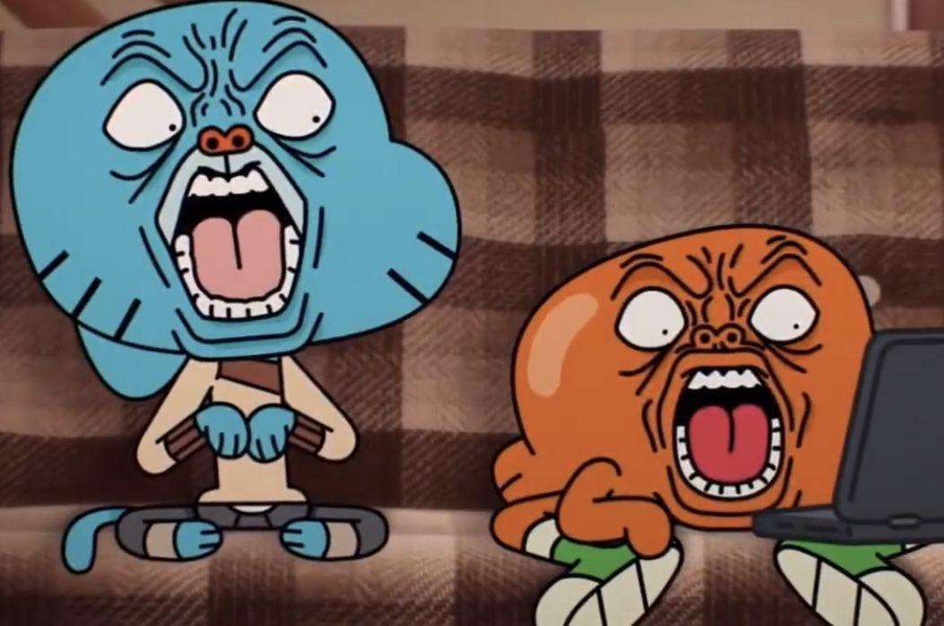 Gumball Weird Faces 1