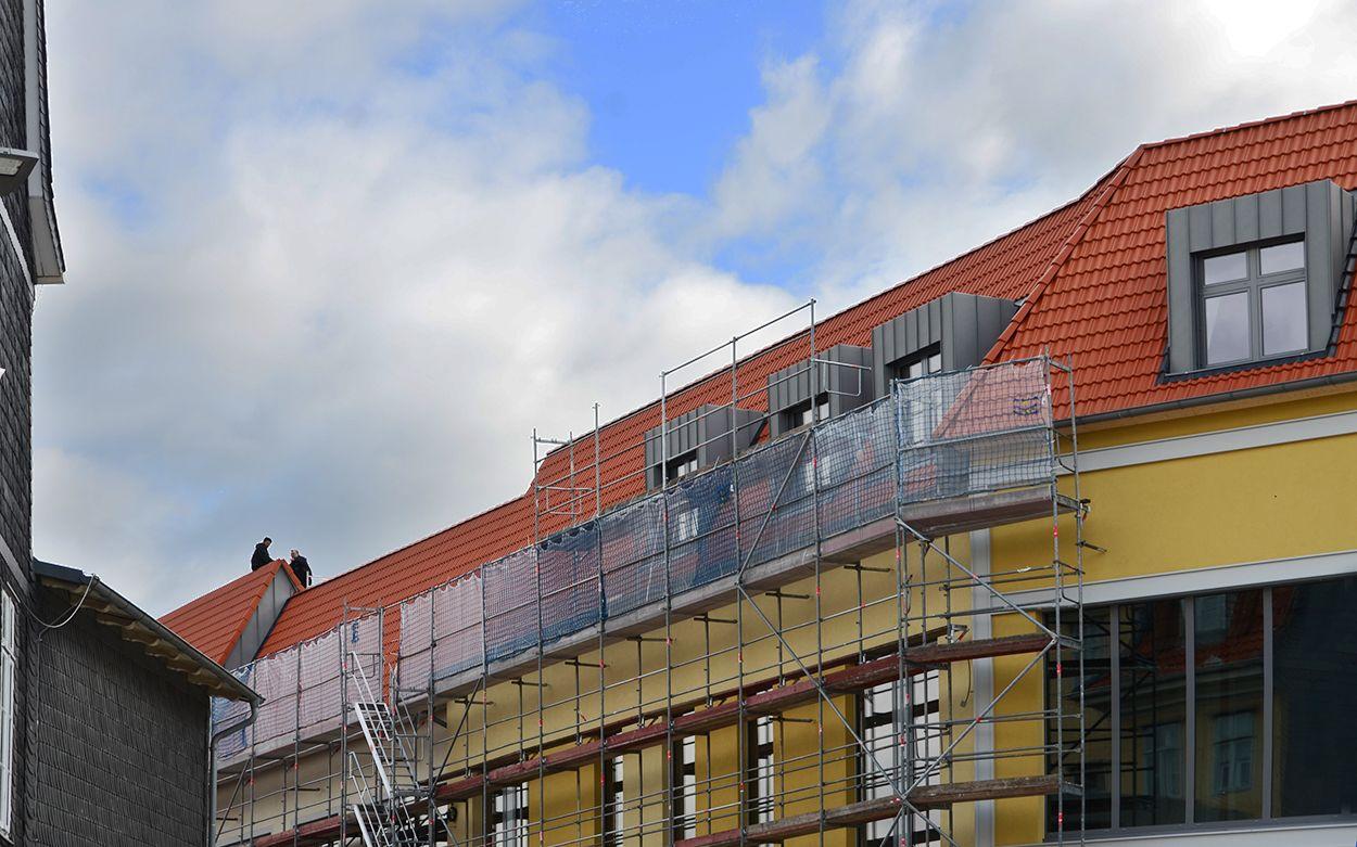 Bauprojekt Löwentor